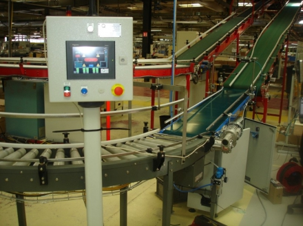 Automatisation aiguillage de cartons